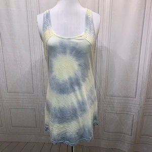 Empyer Yellow Blue Tye Dye